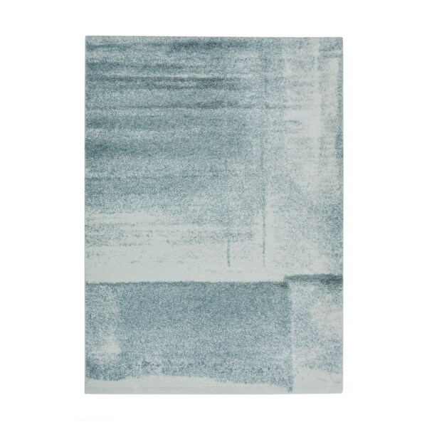 Mirage Abstract Blue Rug - 80 x 150cm