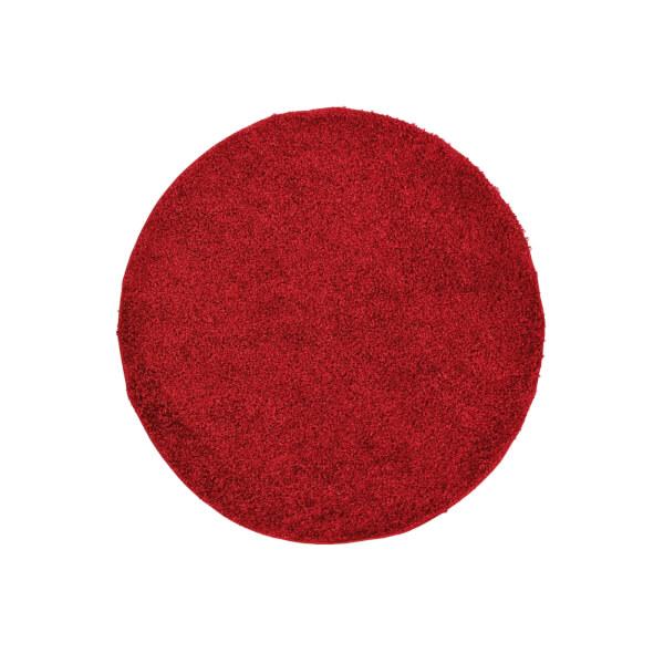 Jazz Rug Red Rug - 120cm Circle