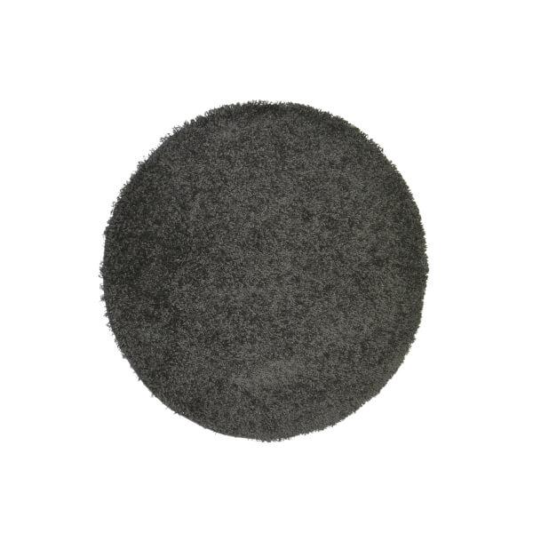 Jazz Rug Anthracite Rug - 120cm Circle