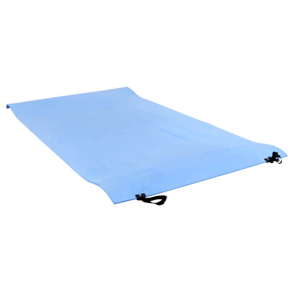 Charles Bentley Rollup Eva Sleeping Double Camping Mat - Blue