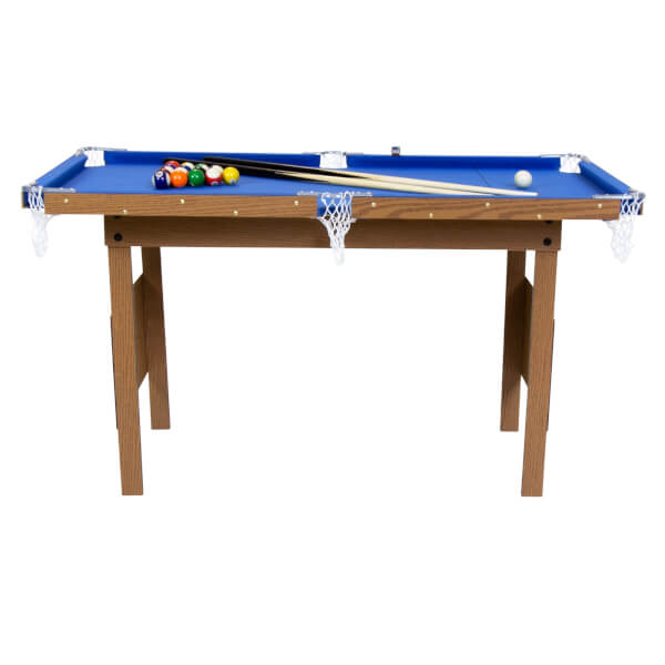 JUNIOR 4FT SNOOKER/POOL TABLE BLUE