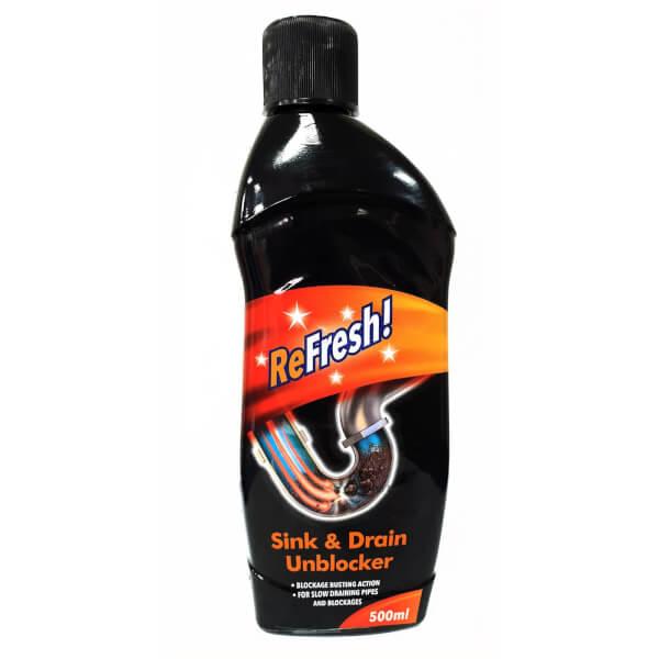500ml Refresh Sink & Drain Unblocker