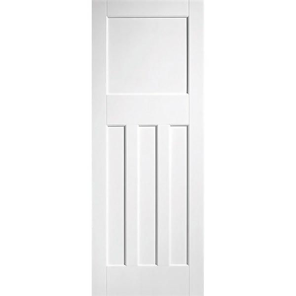 30's Style - White Primed Internal Fire Door - 1981 x 686 x 44mm