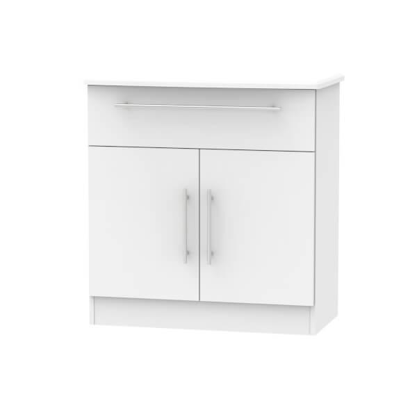 Siena 1 Drawer Sideboard - Grey