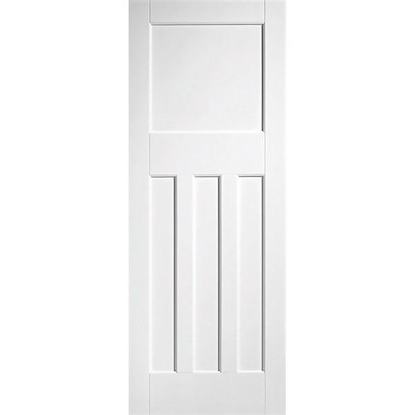 30's Style - White Primed Internal Fire Door - 1981 x 838 x 44mm