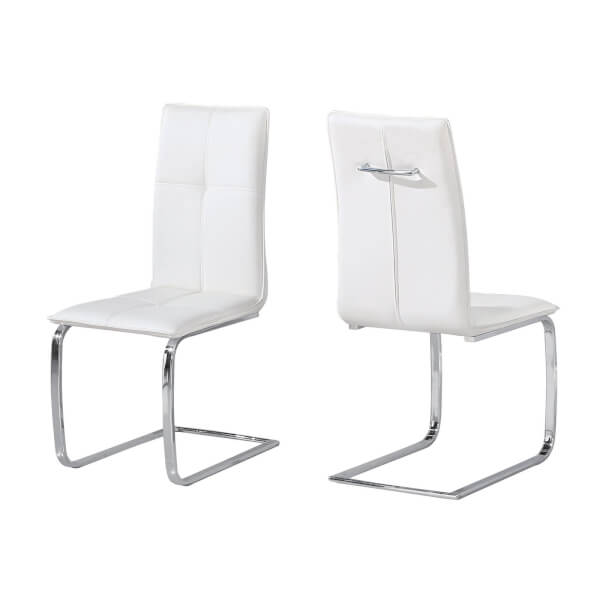 Opus Dining Chair - Set of 2 - White