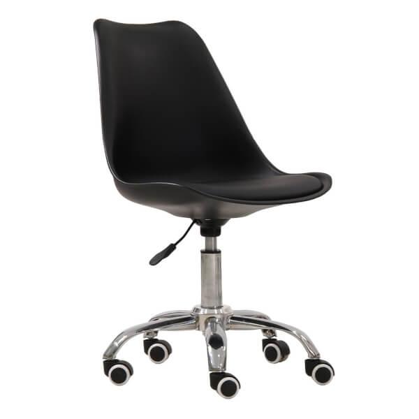 Orsen Swivel Office Chair - Black