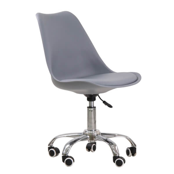 Orsen Swivel Office Chair - Grey