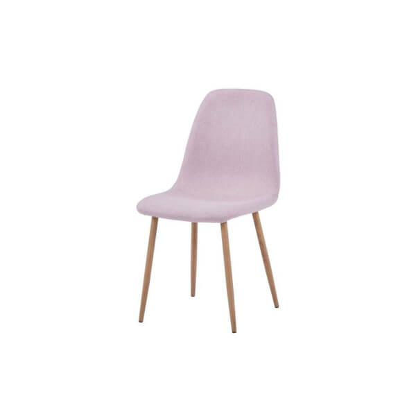 Ludlow Upholstered Dining Chair - Set of 2 - Dusky Pink