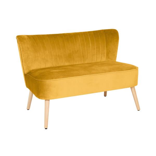 Cocktail Sofa - Ochre