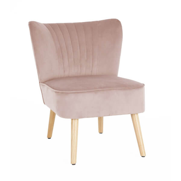 Occasional Chair - Dark Blush