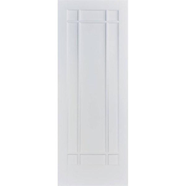 Manhattan - 9 Panel White Primed Internal Door - 1981 x 838 x 35mm