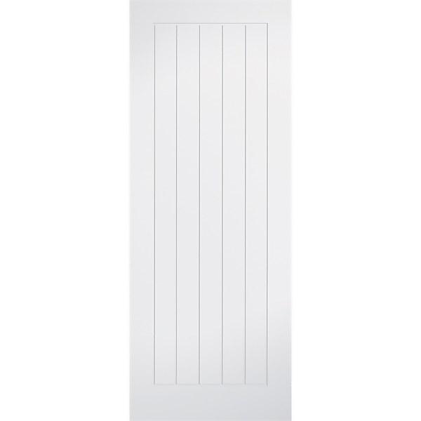 Mexicano - White Primed Internal Door - 1981 x 686 x 35mm