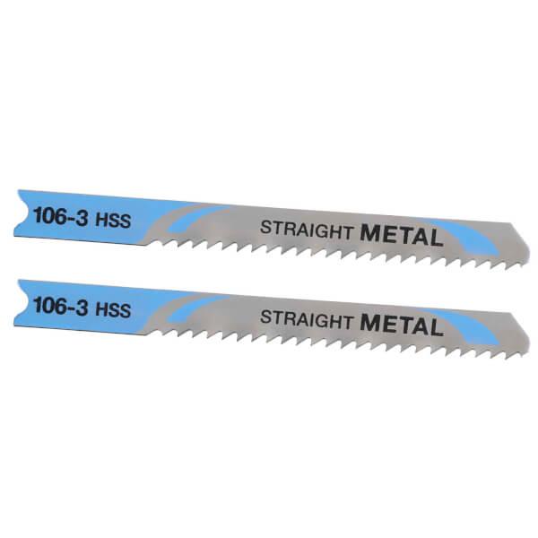 STANLEY FATMAX 2x U-Shank HSS Jigsaw Blades - 70mm