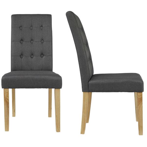 Roma Dining Chair - Grey