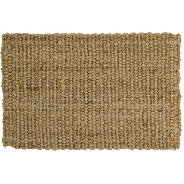 Jute Chunky Weave Rug - Natural