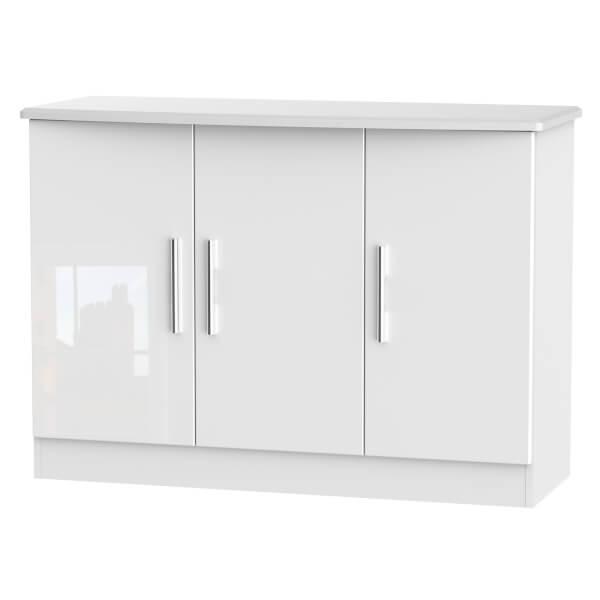 Kensington 3 Door Sideboard - White