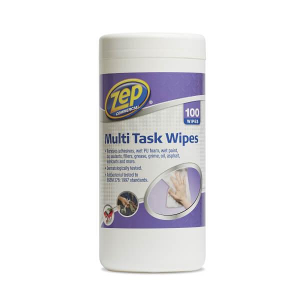 Zep Multi Task Anti Bacterial Wipes - 100 Wipes