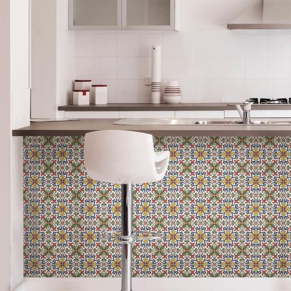 Tuscan Tile Peel & Stick Self Adhesive Wall Tiles
