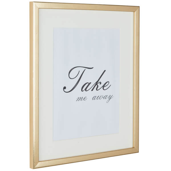Grace Picture Frame 8 x 6 - Gold
