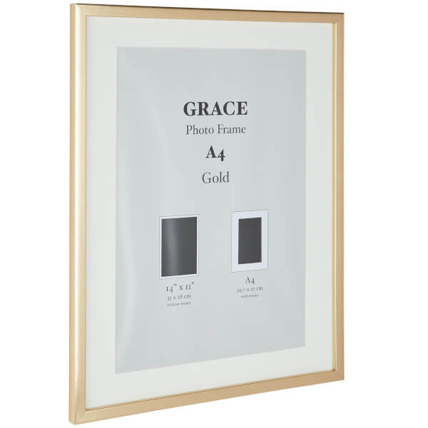 Grace Picture Frame A4 - Gold