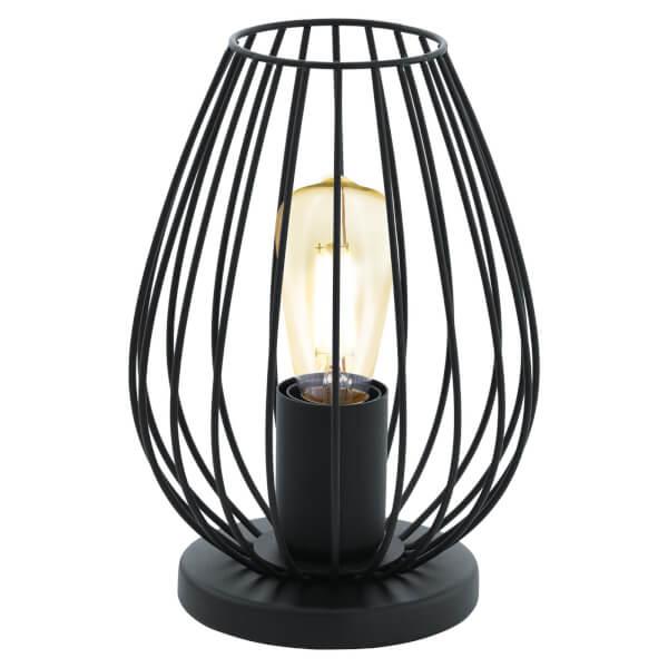 Eglo Newtown Table Lamp - Black