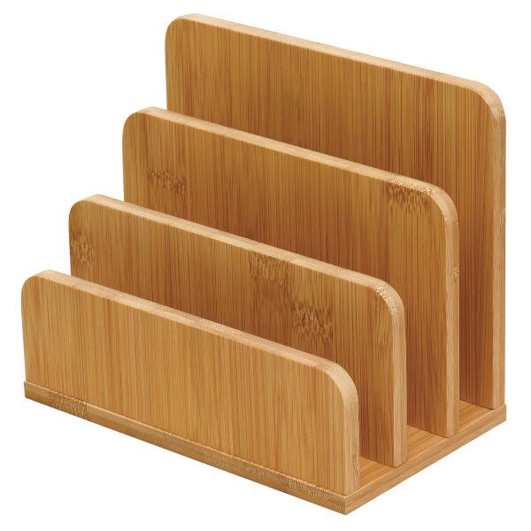 Bamboo Letter Rack