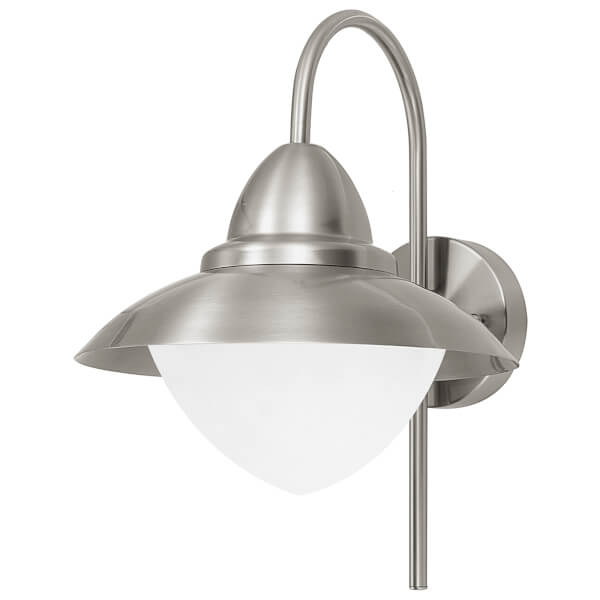 Eglo Sidney Outdoor Wall Light - Stainless Steel