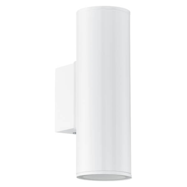 Eglo Riga Outdoor LED Up/Down Light - White