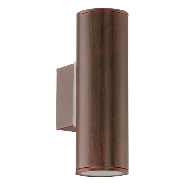 Eglo Riga Outdoor LED Up/Down Light - Brown