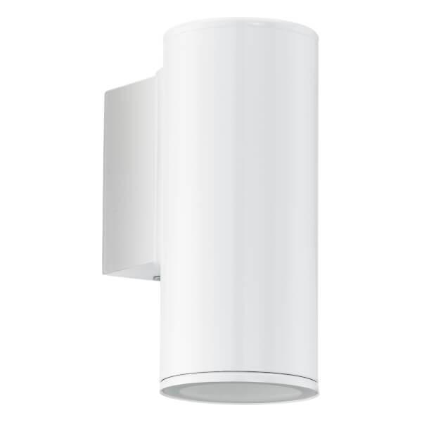 Eglo Riga Outdoor LED Wall Down Light - White