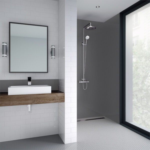 Wetwall Slate Gloss - 900mm - Acrylic