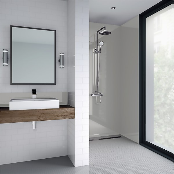 Wetwall White Pearl Gloss - 900mm - Acrylic