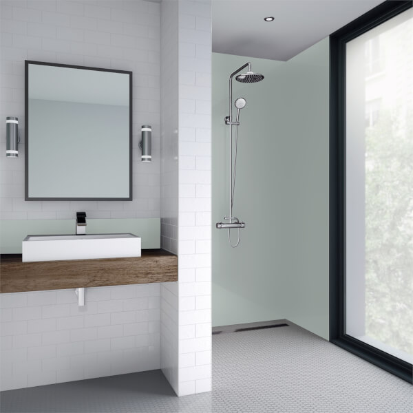 Wetwall Green Mist Gloss - 1220mm - Acrylic