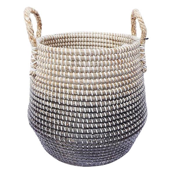 Small Seagrass Basket - Black