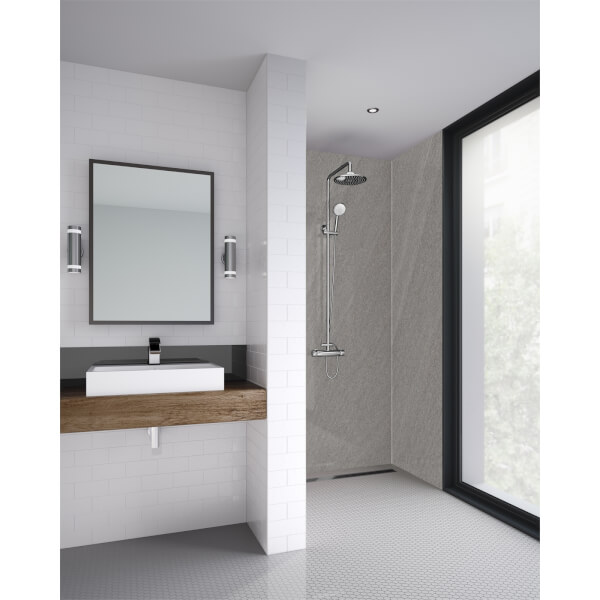 Wetwall Rossano Sand - 590mm Tongue & Groove - Laminate