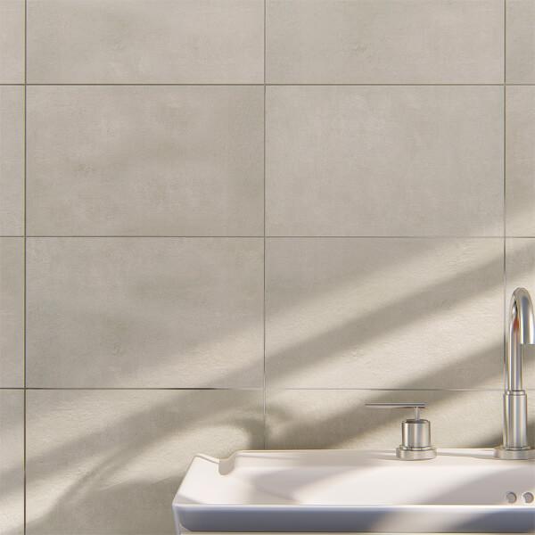 Ashbourne Chalk Wall Tile - 400 x 250mm