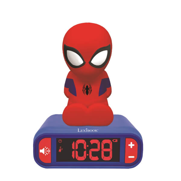 Spider-Man Night Light Radio Alarm Clock