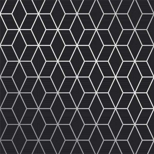 Superfresco Easy Prism Grey Fonce Wallpaper