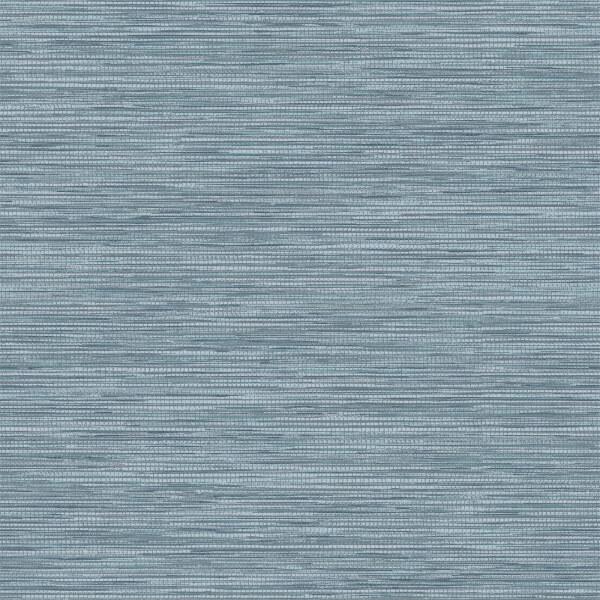 Holden Decor Bambara Plain Textured Metallic Teal Wallpaper
