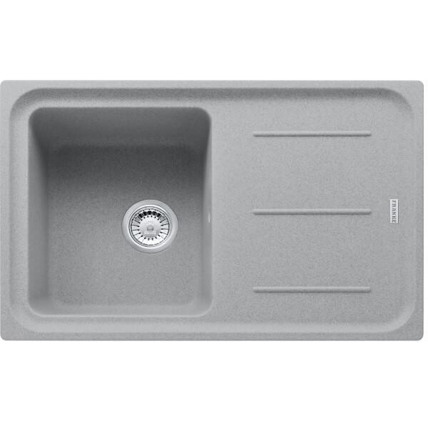 Franke Impact 1 Bowl Granite Sink - Stone Grey
