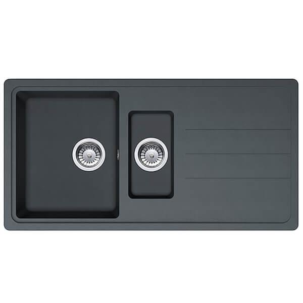 Juno 1.5 Bowl Sink - Black