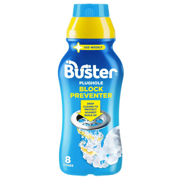 Buster Plughhole Block Preventer 500ml