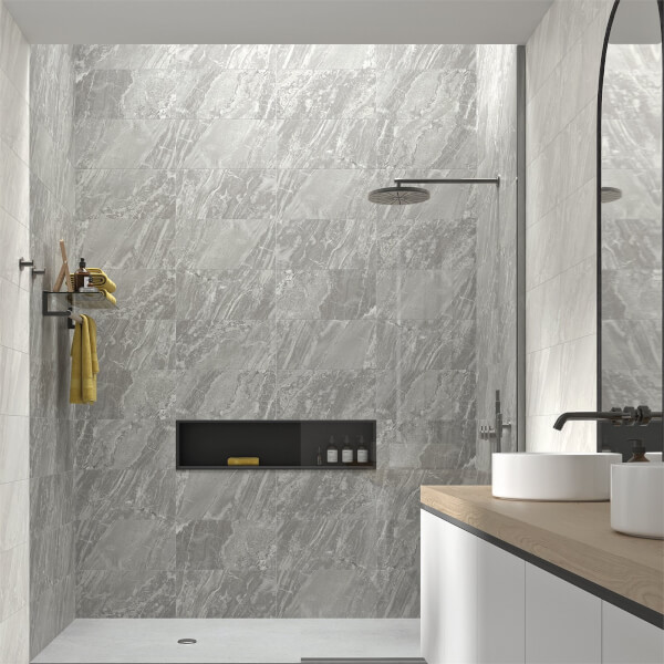 Mulqueen Mist Wall Tile - 500 x 250mm