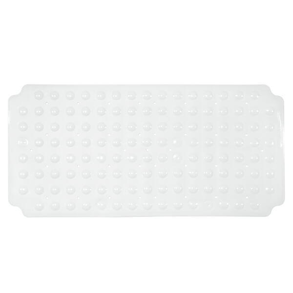 PVC Double Suction Bath Mat - White