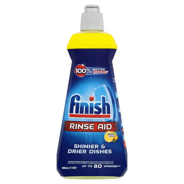 Finish Rinse Aid - 400ml - Lemon