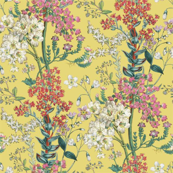 Holden Decor Ayana Floral Smooth Citrus Wallpaper