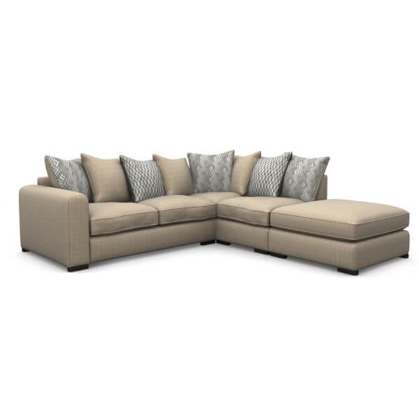 Lewis Righthand Corner Sofa - Natural