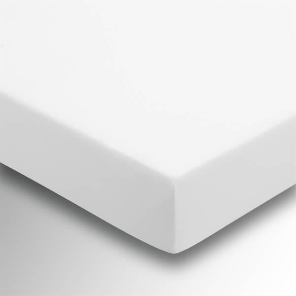 Helena Springfield Plain Dye Fitted Sheet - Single - White
