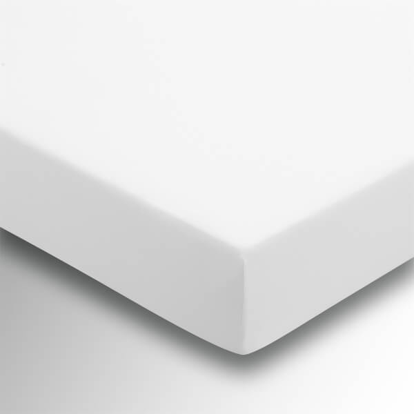 Helena Springfield Plain Dye 36cm Deep Fitted Sheet - Double - White